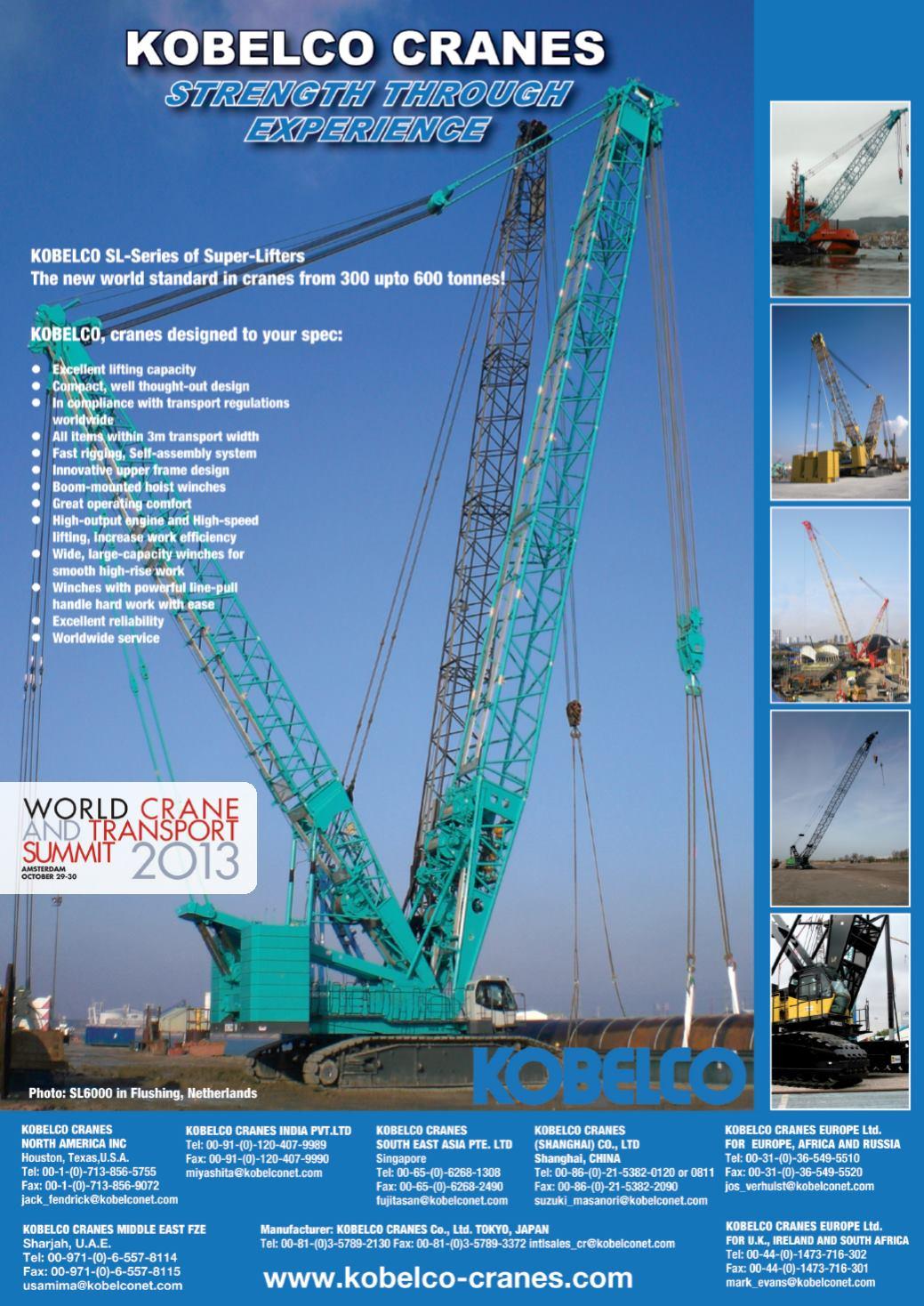 International Cranes - October 2013